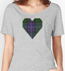 00117 Ontario (District) Tartan  Women's Relaxed Fit T-Shirt