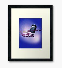 Wibbly-wobbly... timey-wimey... stuff. - Doctor Who Framed Print