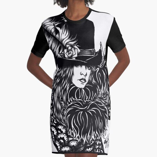 Mystery Graphic T-Shirt Dress