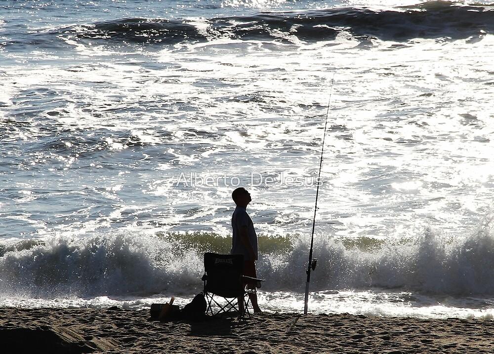 The Fisherman by Alberto  DeJesus