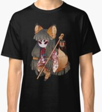 Mysterious Fox Girl Classic T-Shirt