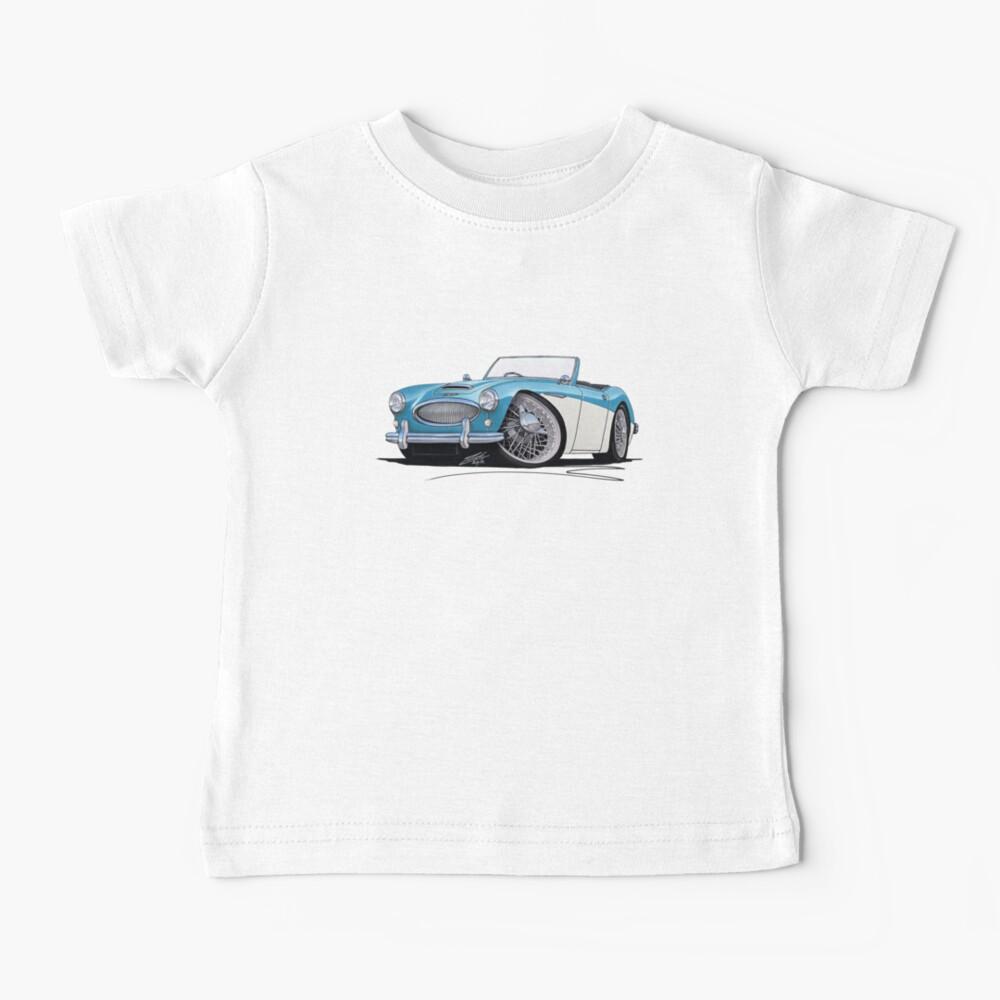 Austin-Healey 3000 Blue/White Baby T-Shirt