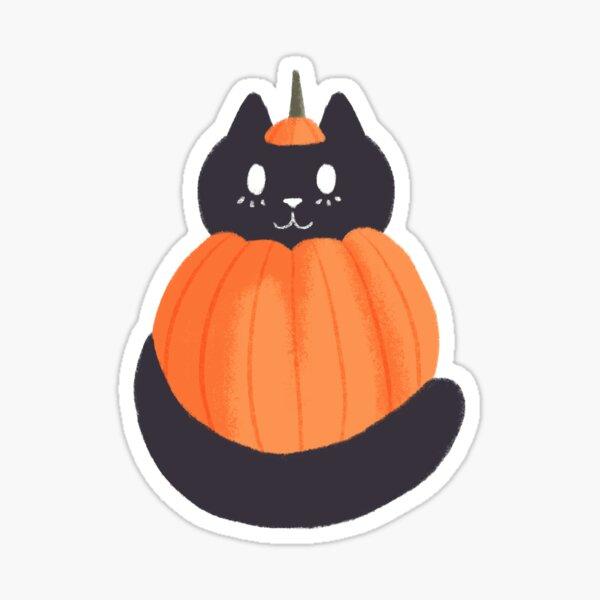 spooky cat sticker Sticker