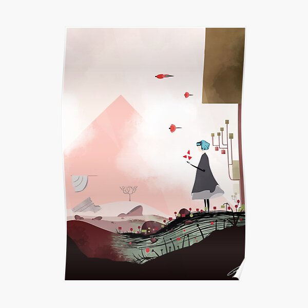 Gris poster Poster