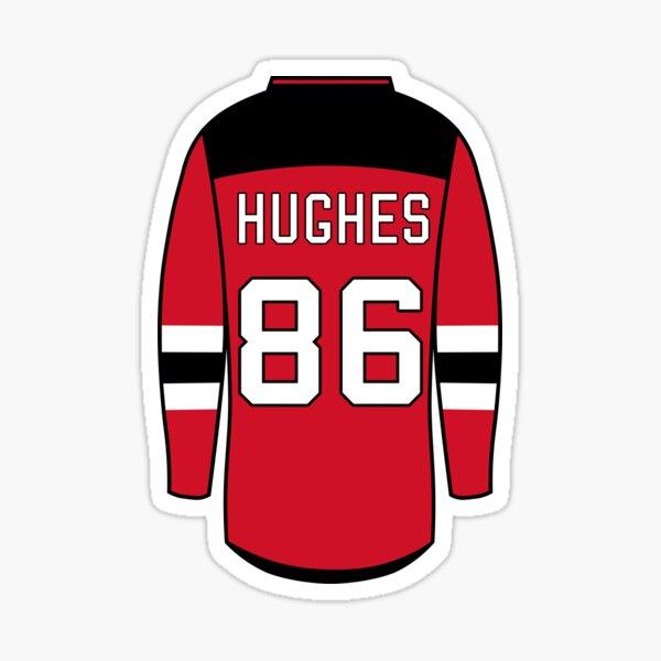 Jack Hughes Jersey Sticker