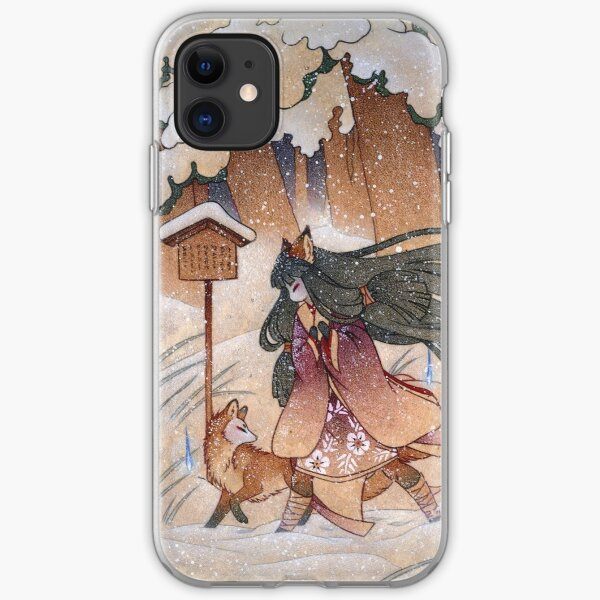 Blustery iPhone Soft Case
