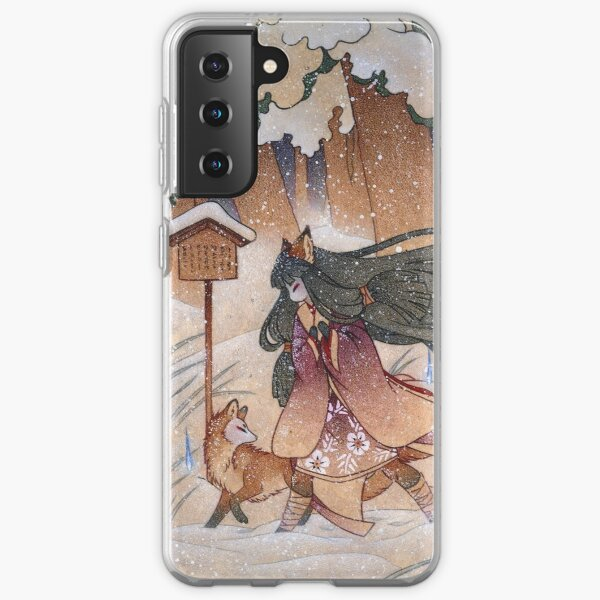 Blustery - Kitsune Yokai TeaKitsune Samsung Galaxy Soft Case