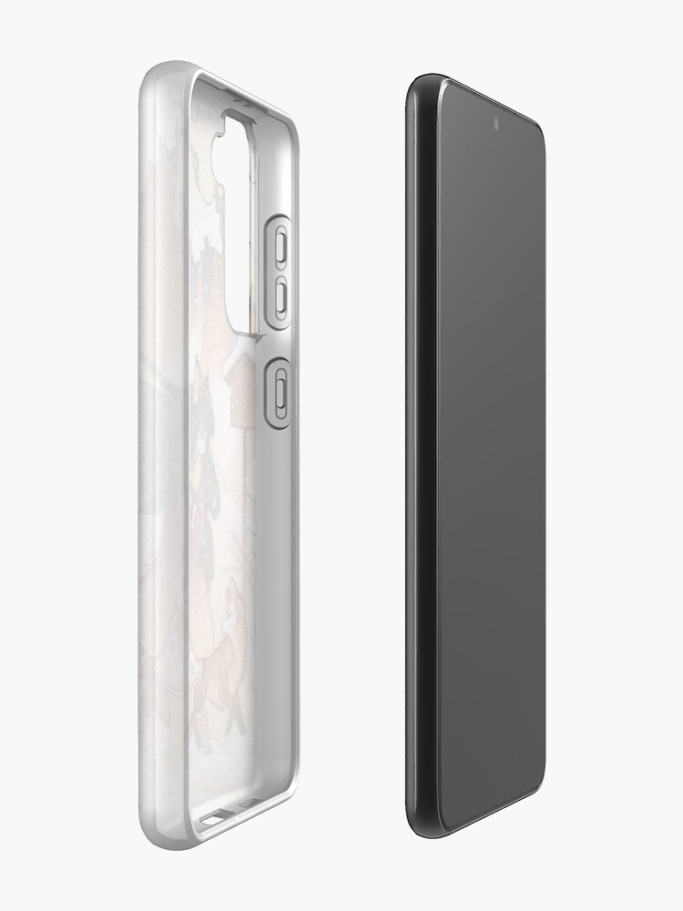 Alternate view of Blustery - Kitsune Yokai TeaKitsune Case & Skin for Samsung Galaxy