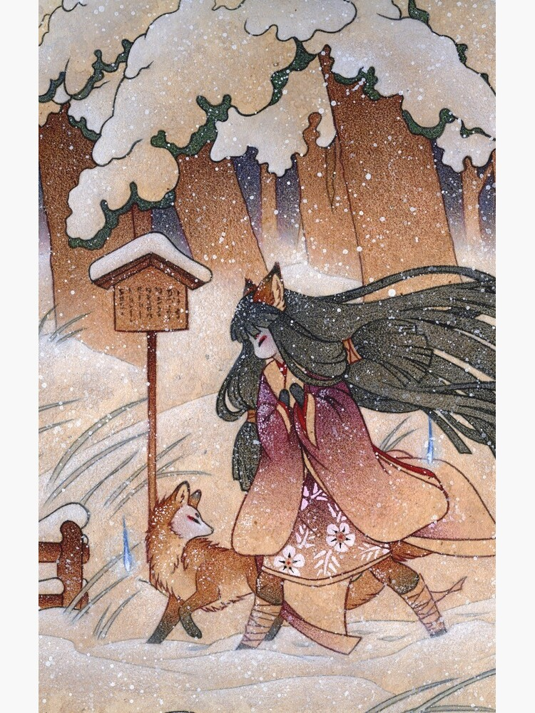 Blustery - Kitsune Yokai TeaKitsune by TeaKitsune
