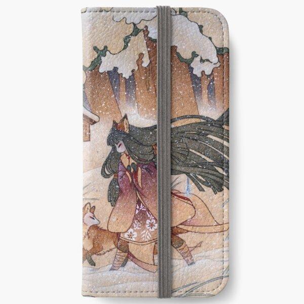 Blustery - Kitsune Yokai TeaKitsune iPhone Wallet
