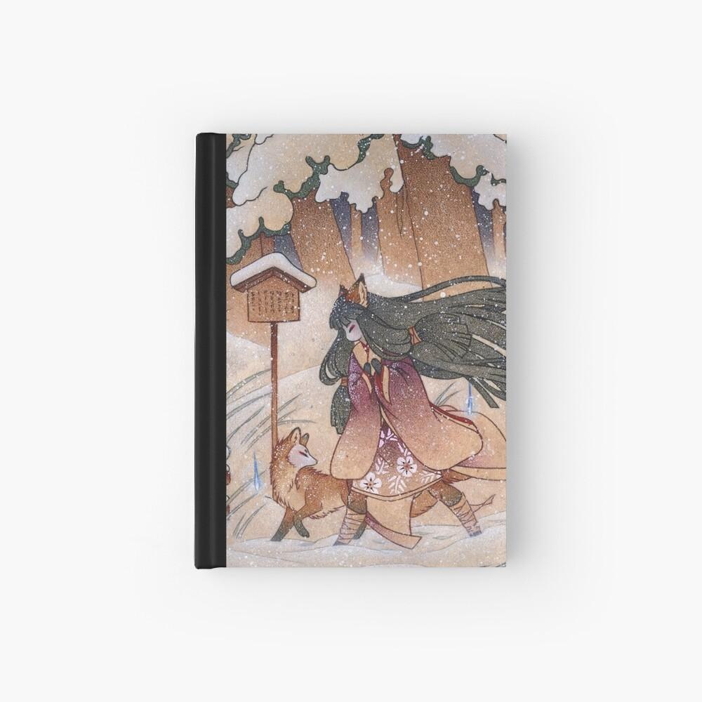 Blustery - Kitsune Yokai TeaKitsune Hardcover Journal