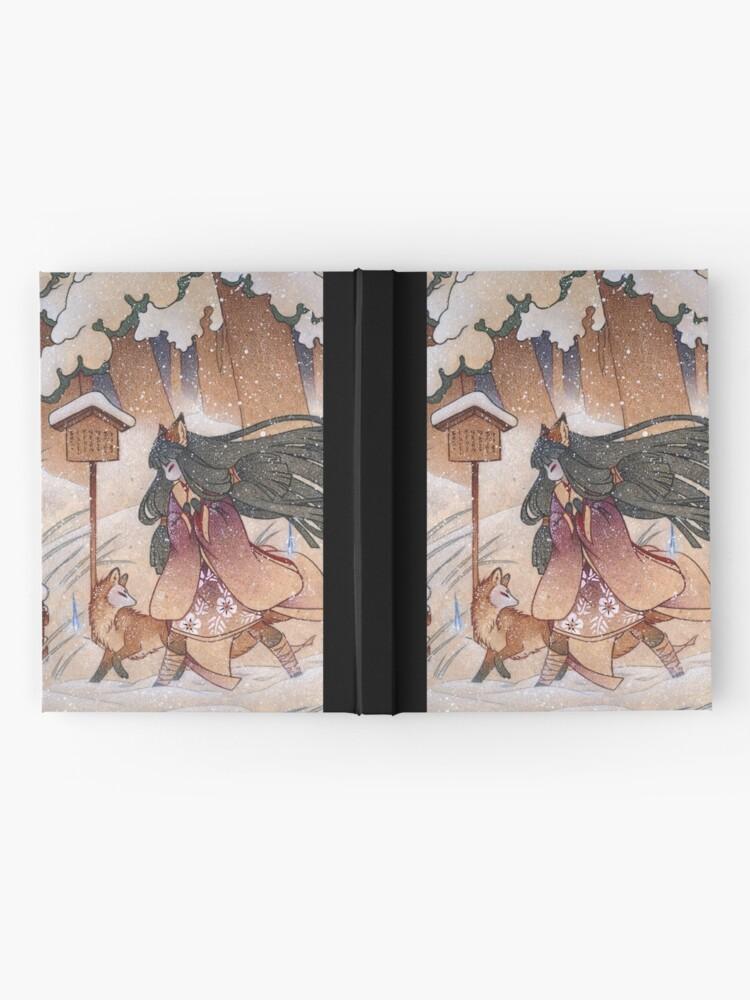 Alternate view of Blustery - Kitsune Yokai TeaKitsune Hardcover Journal