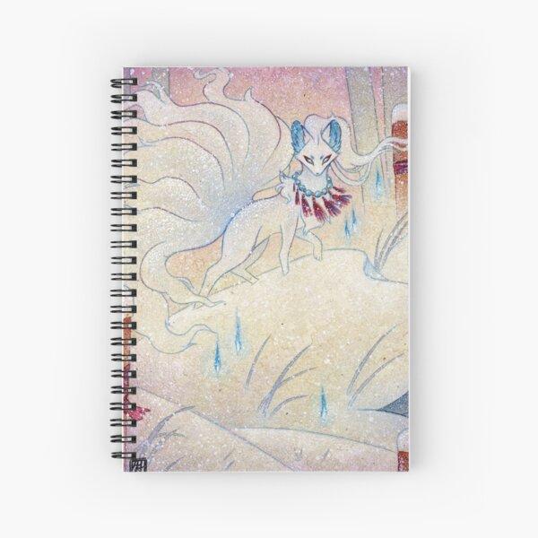 Kitsune Guardian Spiral Notebook