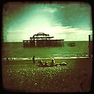 Brighton West Pier by Celia Strainge