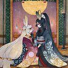 Miri & Akemi - Moon Rabbit Usagi by TeaKitsune