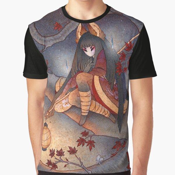 Lantern Light - Kitsune Yokai TeaKitsune Graphic T-Shirt