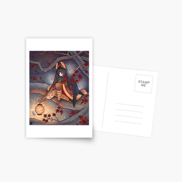 Lantern Light Postcard