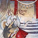 The Summit Gate - Deer Kirin Yokai Spirit by TeaKitsune