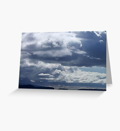 Rolling Clouds Greeting Card
