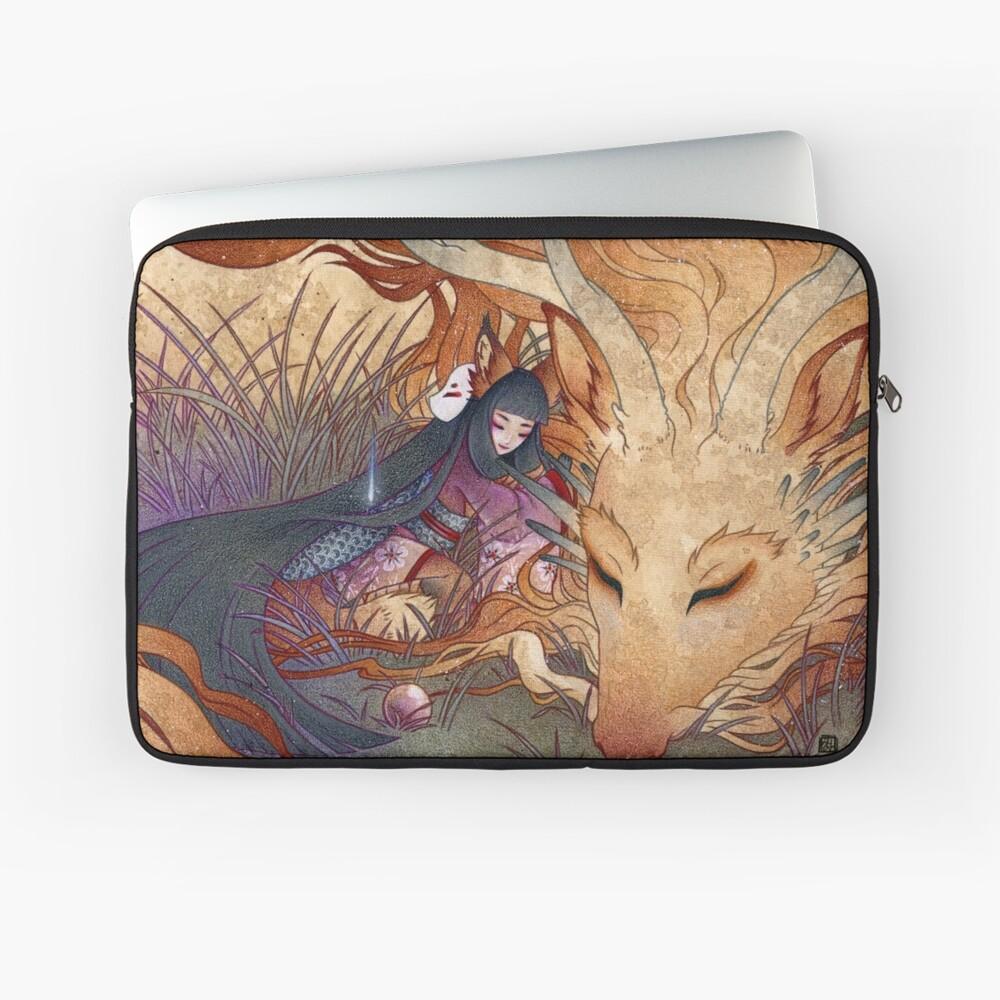 Slumber - Kitsune Fox Dragon Laptop Sleeve