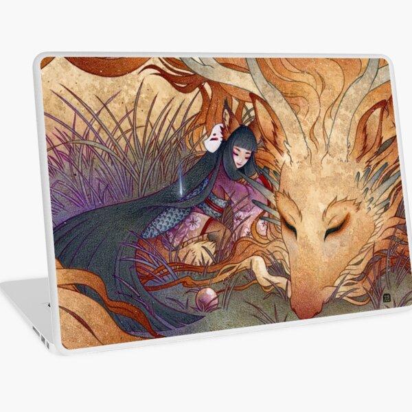 Slumber - Kitsune Fox Dragon Laptop Skin