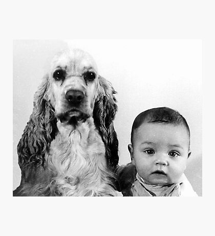 Babe and Gordy Photographic Print