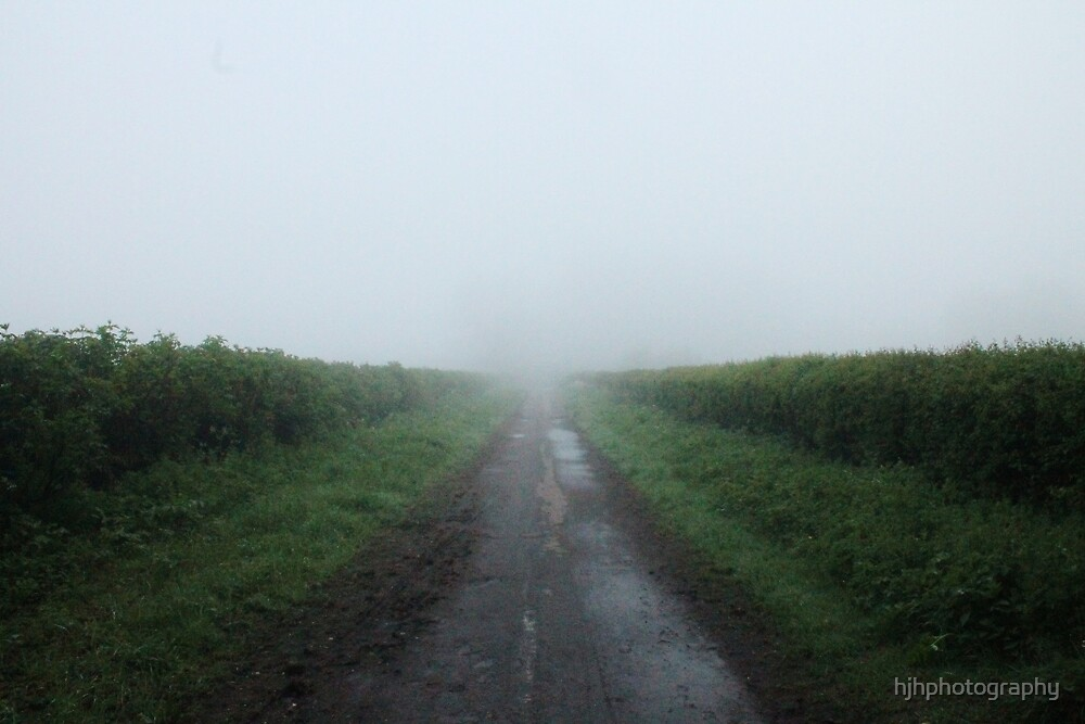 Misty Road by hjhphotography