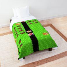 Retro Arcade Mr Do Comforter