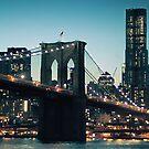 Brooklyn Bridge in the evening by smilyjay