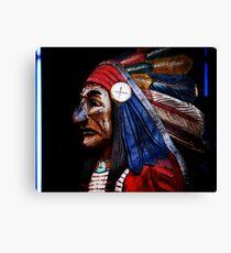 Neon Chief Canvas Print