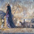 Silent Crossing - Kitsune Fox Yokai by TeaKitsune