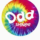 SHINee Odd Logo Tie dye by chngalexa