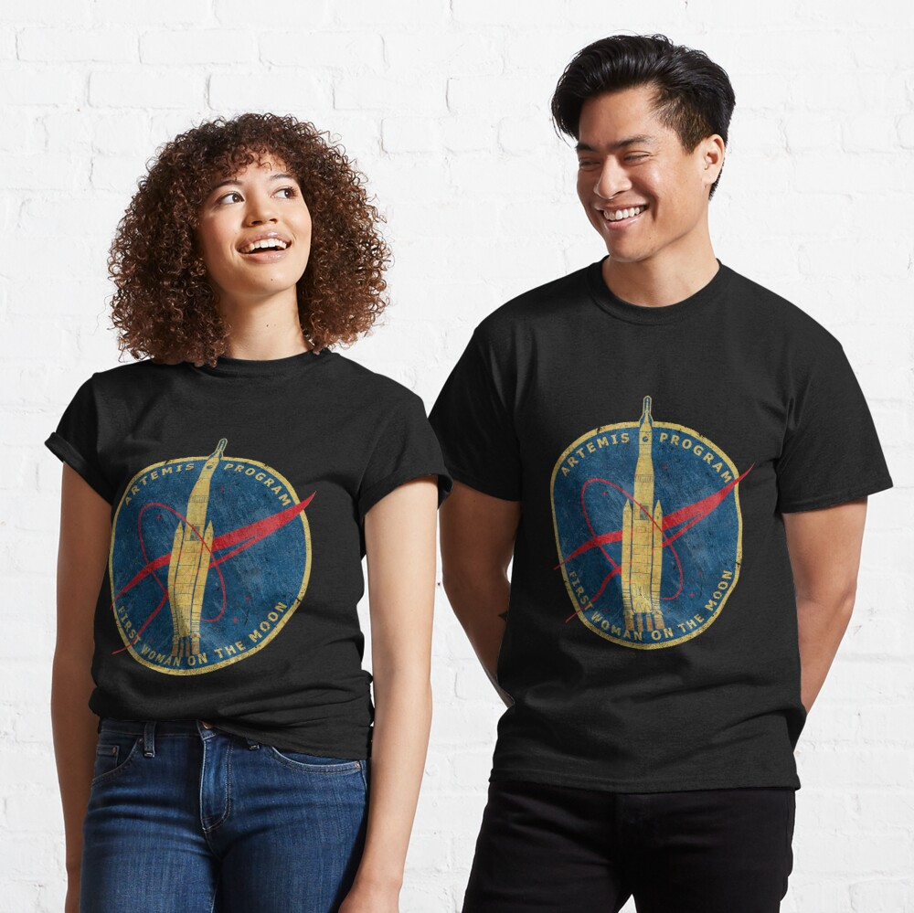 Artemis Program - First Woman On the Moon Classic T-Shirt