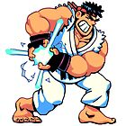 Ryu from Street Fighter by theknobbywood
