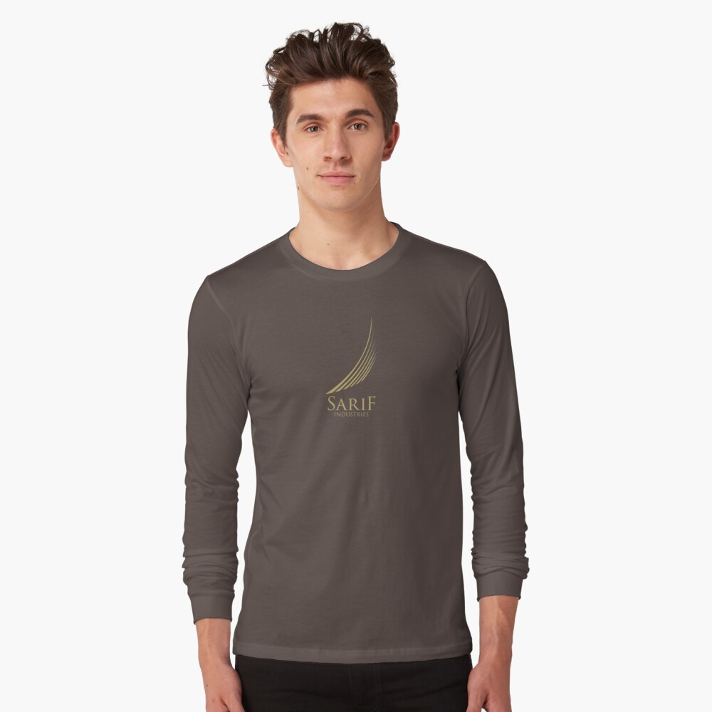 Sarif Industries Logo HD Long Sleeve T-Shirt