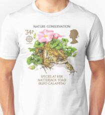 Natterjack Toad - Bufo calamita Unisex T-Shirt