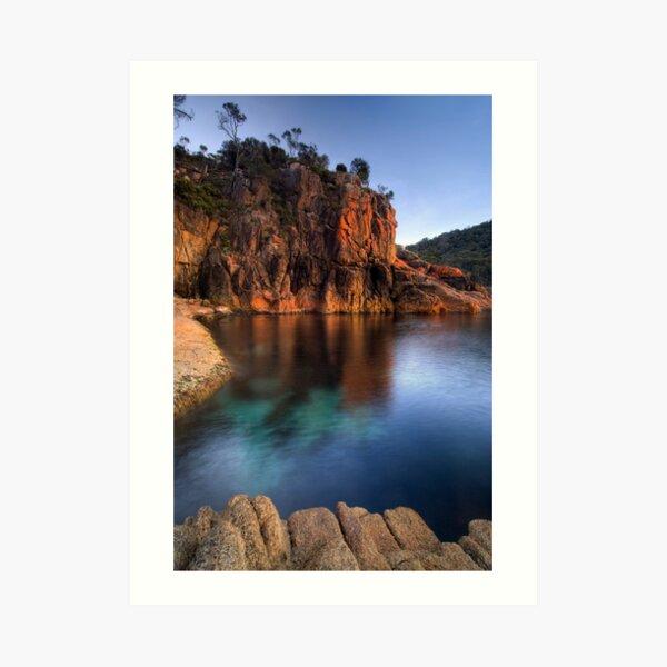 Sleepy Bay, Freycinet National Park, Tasmania Art Print
