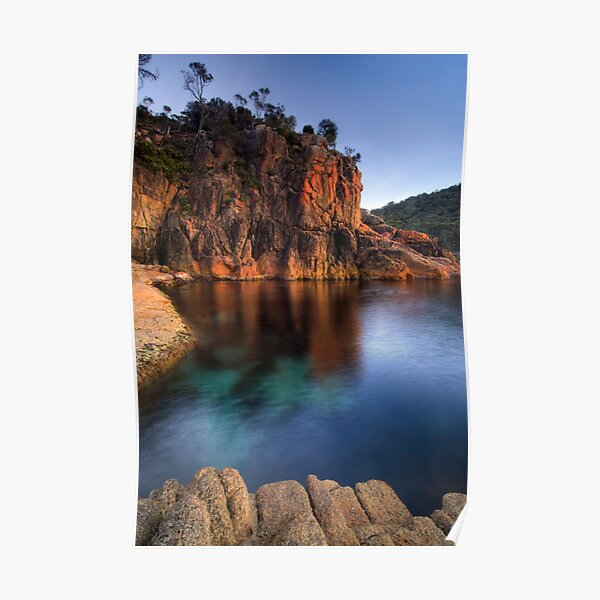 Sleepy Bay, Freycinet National Park, Tasmania Poster