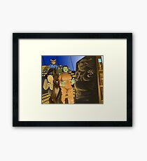 The Ogre Strikes Back Framed Print