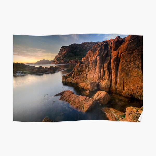 Sleepy Bay, Tasmania, Sunrise Poster