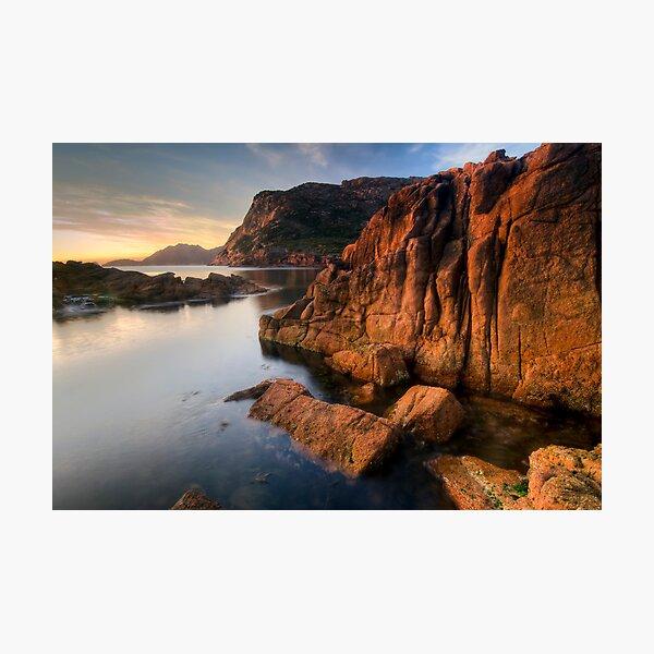 Sleepy Bay, Tasmania, Sunrise Photographic Print