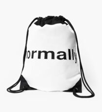 normally Drawstring Bag