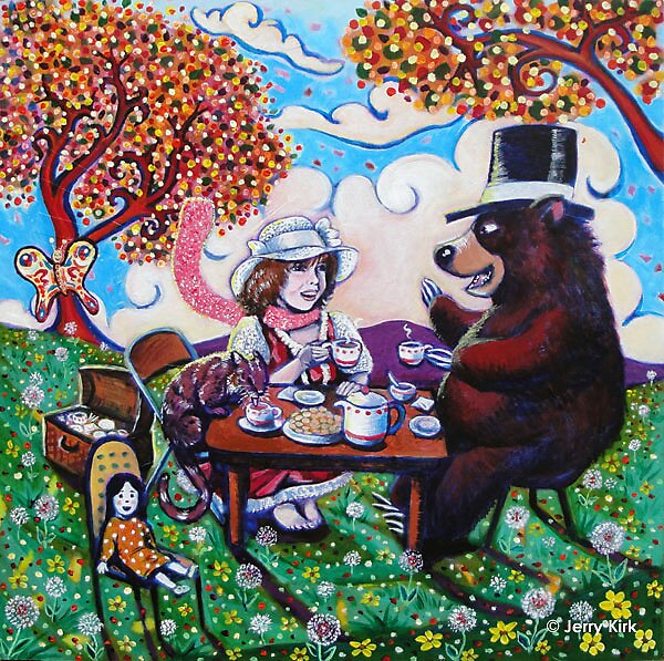 'Biscuits and Tea' by Jerry Kirk