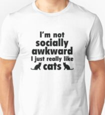 I Just Really Like Cats Unisex T-Shirt