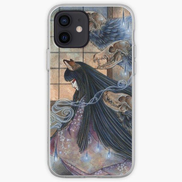 Unmasked - Kitsune Fox Yokai Skull iPhone Soft Case