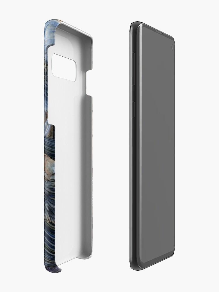 Alternate view of Unmasked - Kitsune Fox Yokai Skull Case & Skin for Samsung Galaxy