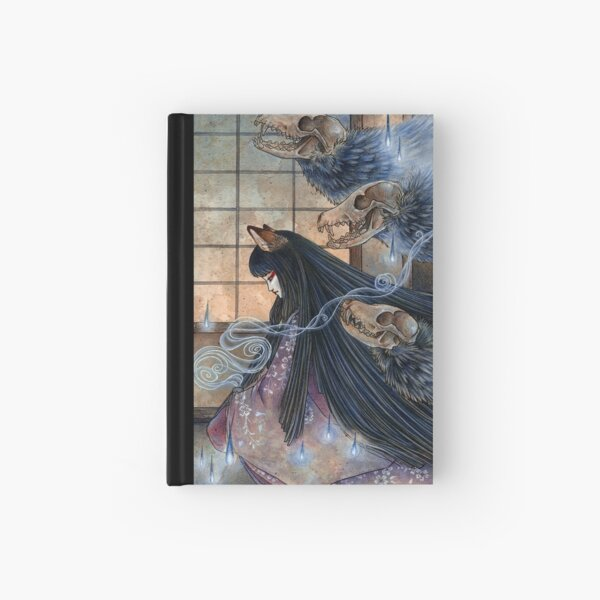 Unmasked - TeaKitsune Fox Yokai Hardcover Journal
