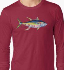 Yellowfin Tuna No.8 Long Sleeve T-Shirt