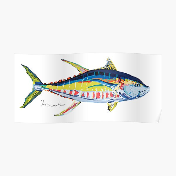 Yellowfin Tuna No.8 Poster