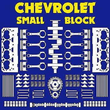 Chevrolet Small Block V8 Engine Parts  by UKMatt2000